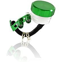 BJ Global - Depósito para aceite para ATV, motocicletas, motos, con tapón CNC