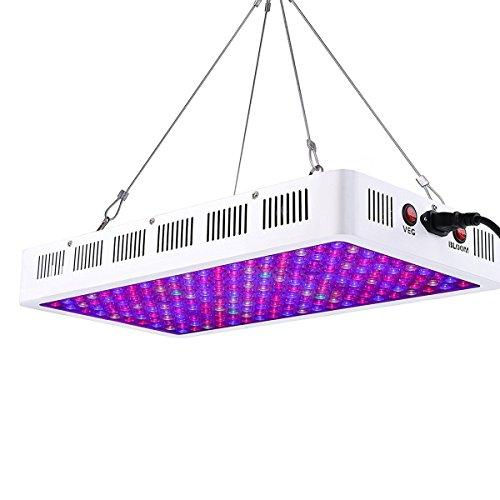 Niello® 1000W LED Pflanzenlampe Optical Lens-Series Led Grow Light 12-Bands Full Spectrum Wachsen Licht Led Wachstumslampe Pflanzenlicht für Zimmerpflanzen Gemüse und Blumen