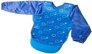 MAM Bibetta Long Sleeved Ultra Bib Bubbles (Blue)