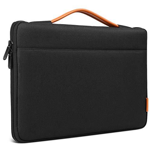 Inateck 15,4 Zoll Wasserdicht Hülle Tasche Notebook Laptop Sleeve Case Kompatibel mit MacBook Pro 15,4 Zoll Retina, Schwarz Pro 15.4