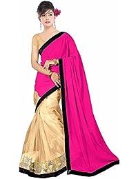 Dancing Girl - Sari - para mujer Rosa rosa talla única