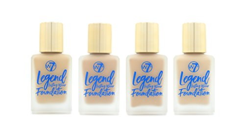 W7 Legend Lasting Wear Foundation 30ml