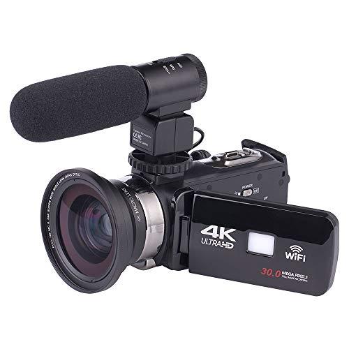 Springdoit-Fotocamera-digitale-Full-HD-1080PDV-16-volte-ZOOM-3LCD-touch-capacitivo-palmare-DV-notte-professionale-con-microfono-e-obiettivo-grandangolare