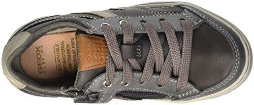 Geox Garcia B, Baskets Basses Garçon Grau (Grey/LT GREYC1318)