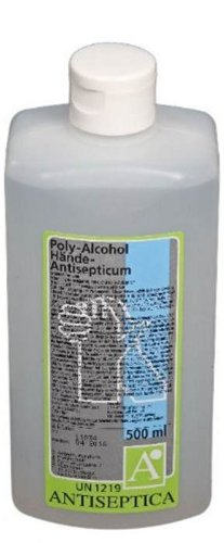 Antiseptica Poly Alcohol Hände Antisepticum 0,5L (500-ml-flasche Poly)