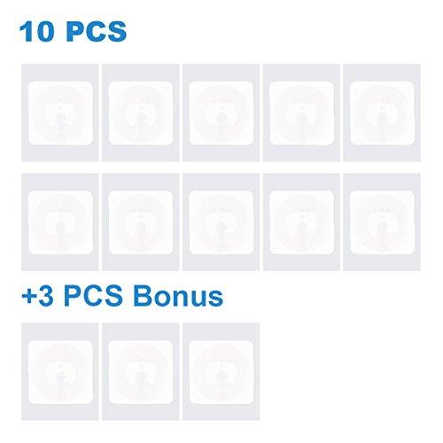NFC Tag Sticker NXP NTAG 215 , 504 Bytes Speicher, 1 inch x 1 inch Platz, können Sie Ihre eigenen Amiibo Tagmo machen Von TimesKey -10+3 PACK