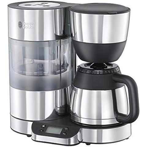 Russell Hobbs 20771-56 Thermal Clarity - Cafetera de goteo, sistema de filtración de agua BRITA, jarra térmica con capacidad de 1 l