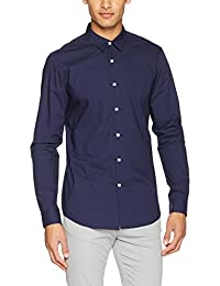 New Look Washed Poplin, Chemise Business Homme