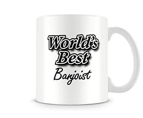 VTYOSQ - World\'s Best Banjoist - Printed Mug