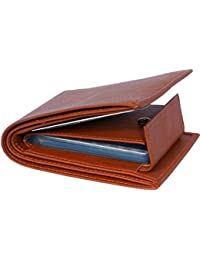 Blissburry Men's Leather Good Money Clip (Tan)