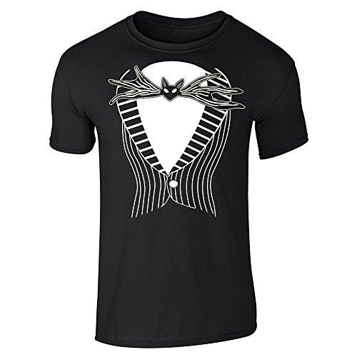 Pop Threads Herren T-Shirt Gr. L, Schwarz