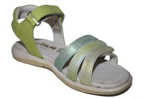 Le petit muck-mona 47005.21 chaussures, mode max, chaussures pour enfants Vert - limette-kombi