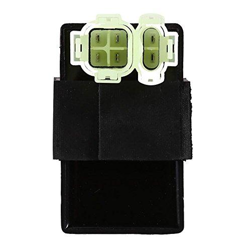Keenso 6 Pins CDI Zünder Modul Box Motorrad Elektronische Zünder 4 Wheeler Quad Bikes Spule Magnet Relais Spannung Regler -