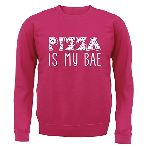 pizza-is-my-bae-enfant-sweat-pull-rose-xxl-12-13-ans