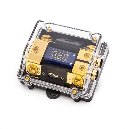 tribution Block Digital LED-Anzeige Sicherungshalter (1 in 2 Ausweg) ()