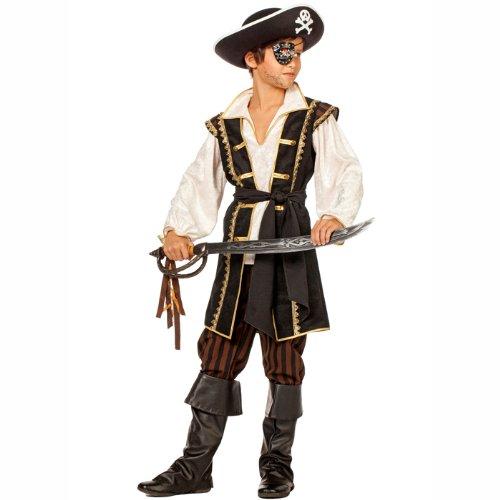 (PARTY DISCOUNT Kinder-Kostüm Pirat kleiner Louis Gr. 128)