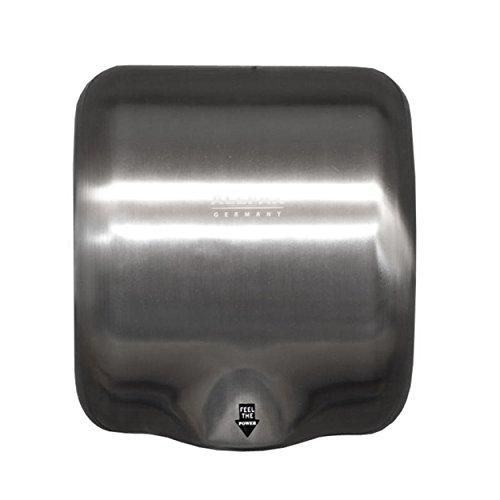 Händetrockner CITOMAT HT 25, Edelstahl - Trockene Hände in 10 - 12 Sekunden. Luftgeschwindigkeit: 90m/s. Leicht zu reinigen. Der Infrarotsensor ermöglicht ein kontaktloses und hygienisches Trocknen der Hände.