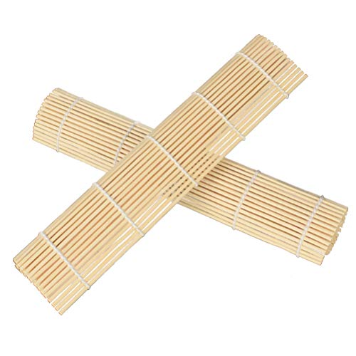 Bestonzon tappetino in bambù per sushi giapponese fai da te 24x24cm