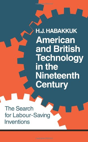 American and British Technology in the Nineteenth Century: The Search for Labour Saving Inventions