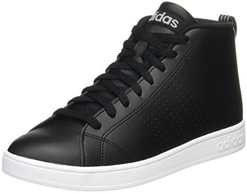 adidas Herren Advantage CL Mid Fitnessschuhe Schwarz (Core Black/grey Three )