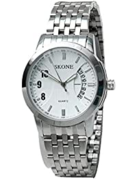 Skone 7213-man-2 Analog White Dial Men's Watch