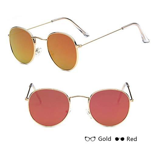 AAMOUSE Sonnenbrillen Sonnenbrille Damen/Herren Designer Brille Lady RoundRetroSonnenbrilleVintage Spiegel OculosGafas
