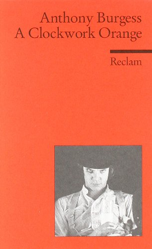 Book cover for A Clockwork Orange