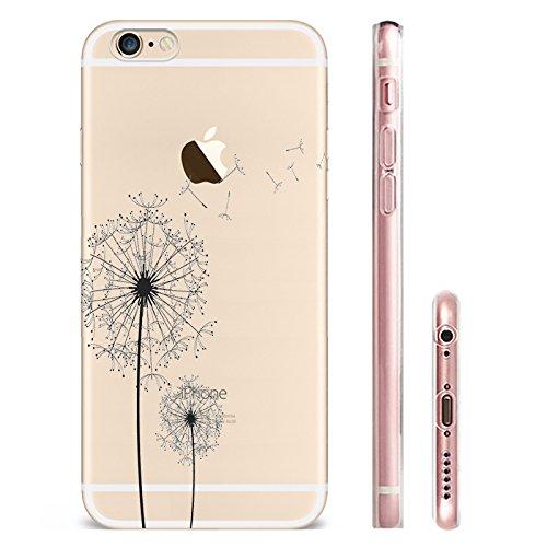 IPHONE SE 5 5S Hülle Weich Silikon TPU Schutzhülle Ultradünnen Case für iPhone 5 /5S/SE Schutz Hülle der Löwenzahn