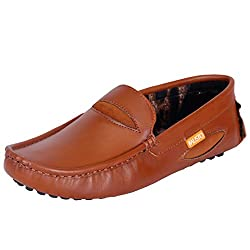 Fausto MenS Fst 772 Tan Loafer -43