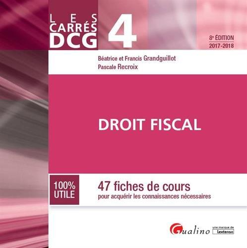 DCG 4 : droit fiscal