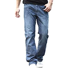 Larghi Amazon Uomo Jeans it Amazon it vIwx6TSqT