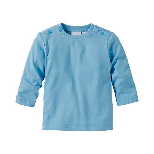 BORNINO BASICS Shirt langarm blau 74/ (Langarm Jungen Pullover)