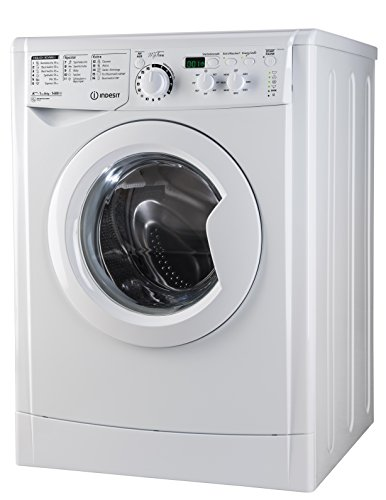 Indesit EWD 61483 W DE Waschmaschine FL / 153 kWh / 1400 UpM / 6 kg / 8643 Liter / MyTime, Schneller als 1 Stunde / Inverter-Motor / leise nur 54 db / Wasserstopp / weiß - 5