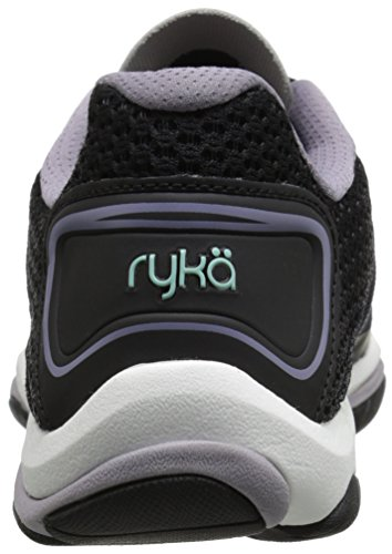 Ryka Influence 2 Damen Synthetik Turnschuhe Blk/Prpl