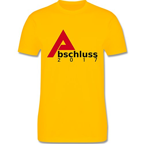 Abi & Abschluss - Abschluss 2017 - Herren Premium T-Shirt Gelb