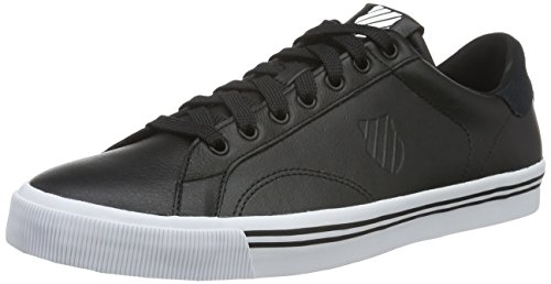 k-swiss-herren-bridgeport-low-top-schwarz-black-white-44-eu