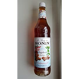 Monin Gingerbread Sugar Free 1000ml
