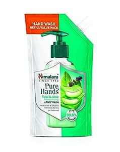 BARK Himalaya Pure Hands Moisturizing Tulsi and Aloe Hand Wash Refill, 185ml