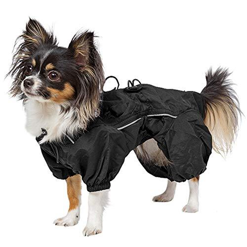 ntel WasserDicht Warme Bekleidungs Weste Reflektierende Streifen für Kleine MittelGroße Hunde,XXS ()
