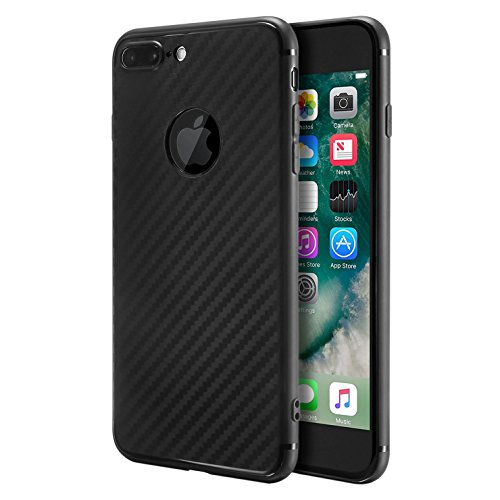 Cover per iPhone 7 Plus di colore nero