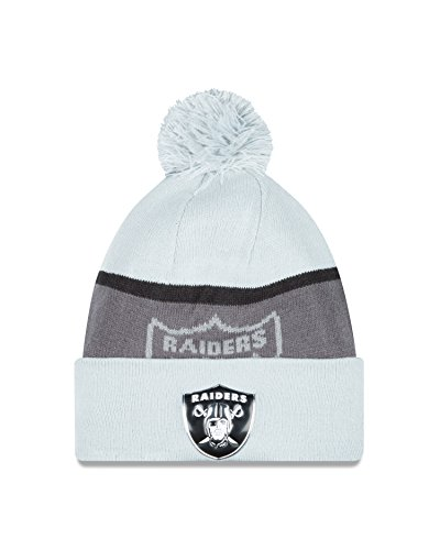 Oakland Raiders New Era NFL Gold Collection Sideline Bobble Knit