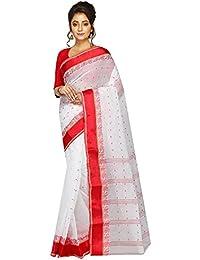 Tjsarees Cotton Saree (TJ500036_White_Free Size)