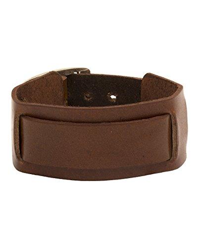 Valentine Gifts: Dare By Voylla Fashion Brown Metal Bracelet For Men, Boyfriend & Husband