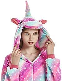 JXUFUFOO Adult Unisex Unicorn Onesie Pyjamas Cosplay Costume 002f0f2ce