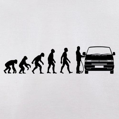 Evolution of Man VW T4 - Herren T-Shirt - 13 Farben Weiß