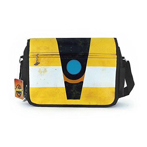 Borderlands 2 Messenger Bag Claptrap mit vielen Innenfächern- & Taschen