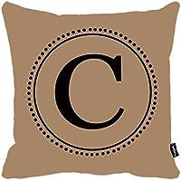 i FaMuRay Monogram C Copricuscino Federa Square 18''X18''