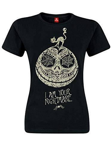 Nightmare before Christmas The Jack Skellington - I Am Your Nightmare T-Shirt schwarz XL (Christmas Before Shirt Nightmare)