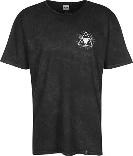HUF Thrid Eye Triple Triangle Wash T-shirt black