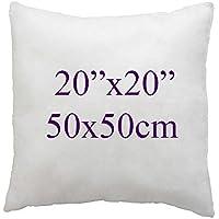 100% stylo-designs 100% cotone stampato cuscino decorativo Covers Dimensioni 50,8x 50,8cm (50), Cotone, Hollow Fiber Inserts 20x20, 20